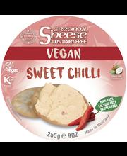 Creamy Sheese 255g kermainen makea chili maidoton vaihtoehto tuorejuustolle