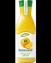 innocent 0,9L appelsiinitäysmehu ja hedelmänlihaa