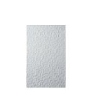 ABL Seinälaatta Hartland white pressed mosaic 25x40 gloss