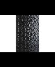 ABL Seinälaatta Hartland black pressed mosaic 25x40 gloss