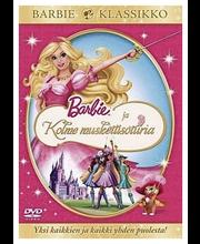 Barbie ja Kolme muskettisoturia (DVD)