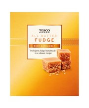 Tesco Fudge 150g