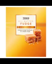Tesco all butter fudge...