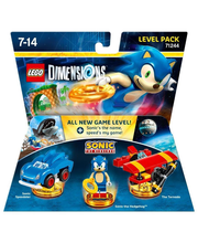 Lego Dimensions Level Pack:Sonic The Hed