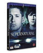 Dvd Supernatural 2 Kausi