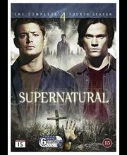 Dvd Supernatural 4 Kausi