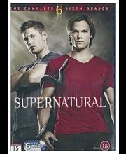 Dvd Supernatural 6 Kausi