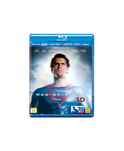 Man of Steel Blu-ray 3D + Blu-ray
