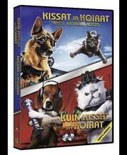 Dvd Kissat Ja Koirat 1+2