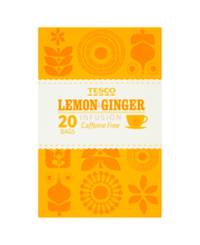 Tesco  lemon & ginger ...