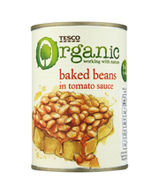 Baked beans in tomt sauce