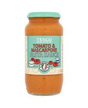 Tesco 500g kermainen tomaatti-mascarpone juustokastike