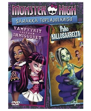 Dvd Monster High Sähäkkä
