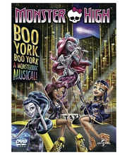 DVD Boo York, Boo York a Monsterrific Musical