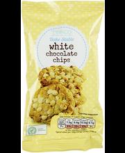 White chocolate chips ...