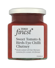 Tomaatti-chili chutney...