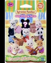 Sylvanian Families Yllätyspakkaus  vauva ostoksilla