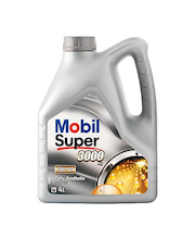 Moottoriöljy Mobil Super 3000 X 1 5W-40 4 l