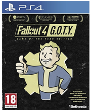 PS4 FALLOUT 4 GOTY ED....