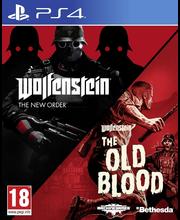 PlayStation 4 Wolfenstein kaksi peliä