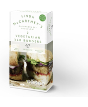 Linda McCartney's 227g/2kpl Vegetarian Burgers hampurilainen pakaste