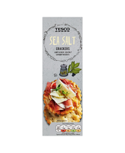 Tesco 185g Sea Salt Crackers suolakeksit