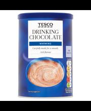 Tesco drinking chocola...