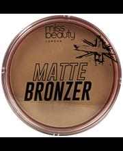 Miss Beauty London Bronzer 01 Miami Glow Matte aurinkopuuteri