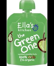 Ella's Kitchen 90g the Green One, Vihreä hedelmä smoothie, luomu