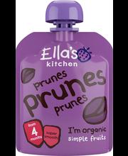 Ella's Kitchen 70g prunes prunes prunes, luumu hedelmäsose, luomu