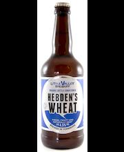 Little Valley Organic Hebden's Wheat 4,5% 12x50cl olut (Soil association organic standard)