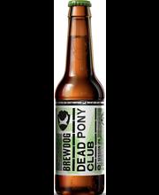 BrewDog Dead Pony Pale Ale 3,8% 0,33l olut pullo