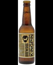 BrewDog KingPin 21st Century Lager 4,7% 0,33l olutpullo