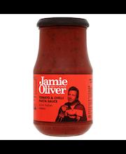 Jamie Oliver 400g tomaaatti & chili pasta kastike