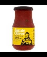 Jamie Oliver 400g tomaaatti, oliivi & valkosipuli pasta kastike