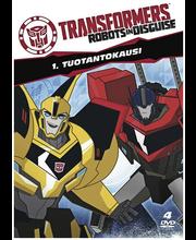 Dvd Transformers 1 Kausi