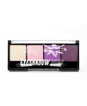 Miss Beauty London Eyeshadow Quad 3 Pink luomiväripaletti