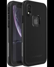Lifeproof fre vesitiivis kotelo iPhone XR asphalt black musta