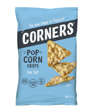 Corners 85g Pop Corn Crisps Sea Salt maissilastu