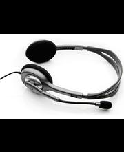 Logitech Stereo Headset H110 kuulokemikrofoni, hopea