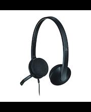 Logitech USB Headset H340 kuulokemikrofoni
