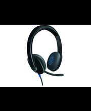 Logitech USB Headset H540kuulokemikrofoni, musta
