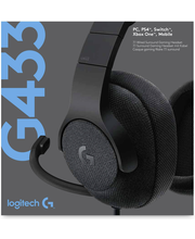 Logitech g433 7.1 musta