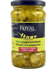 Royal 350/200g mieto pepperoniviipale valkosipuli ja oregano