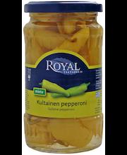 Royal 325/180g kultainen pepperoni
