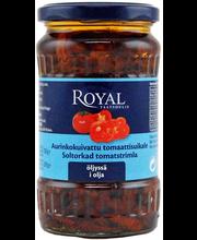Royal 330/200g aurinkokuivattu tomaattisuikale öljyssä