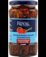 Royal 330/200g aurinkokuivattu tomaatti rosmariiniöljyssä