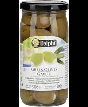 Valkosip.täyt.oliivi 360/