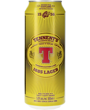 Tennents 1885 Lager 5%...