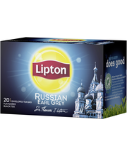 Lipton 20ps Russian Earl Grey musta tee